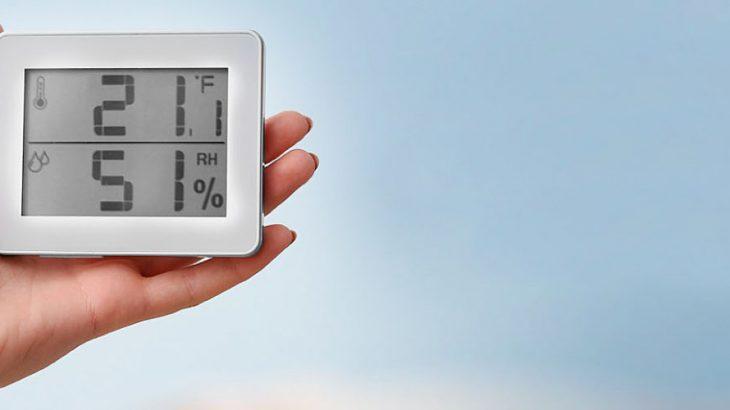 Es imposible evaluar y medir los niveles de humedad relativa del aire Capa Post