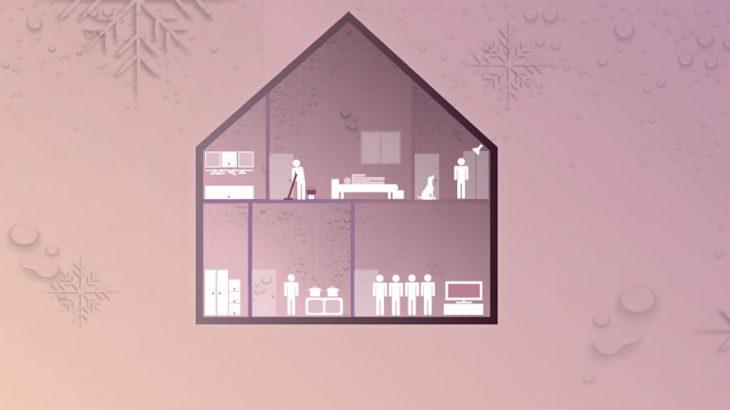 Humedad en el invierno dentro de su casa Capa Post