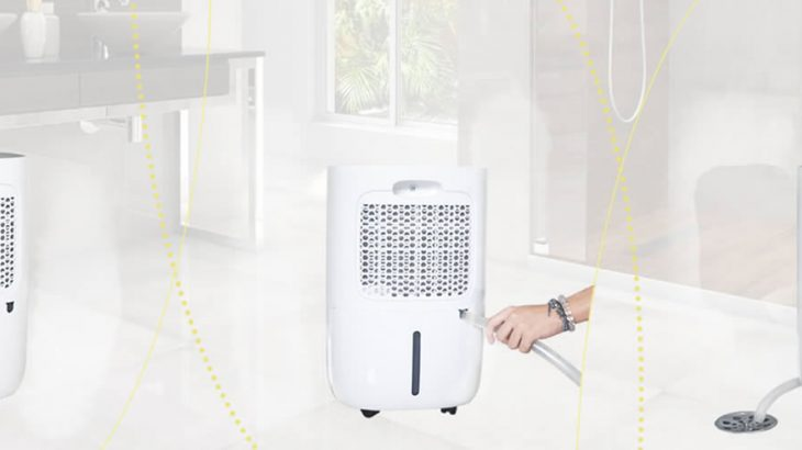 Cómo usar el drenaje del deshumidificador de aire